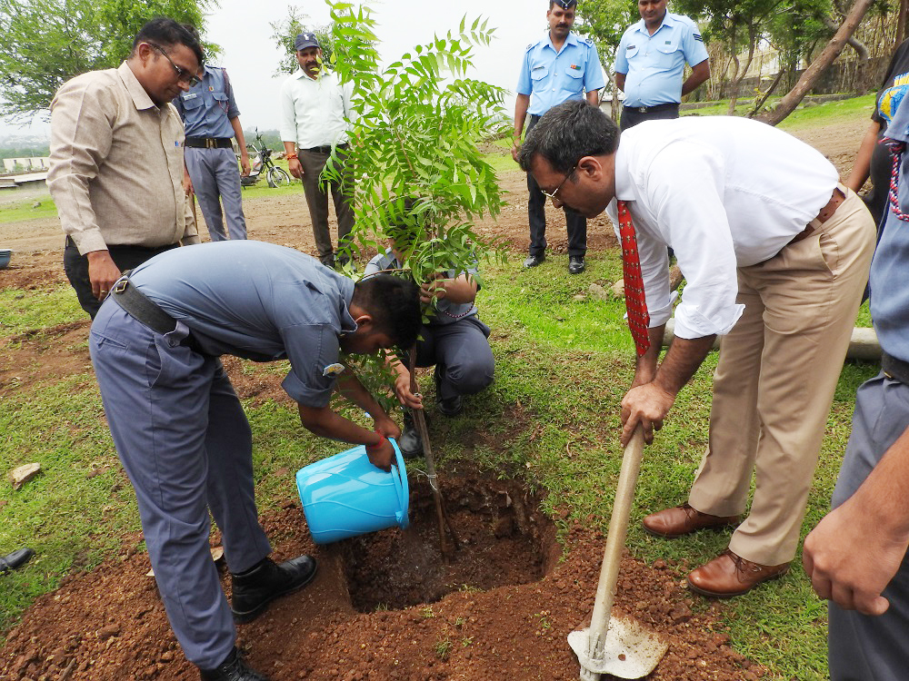 Plantation on Kargil Diwas